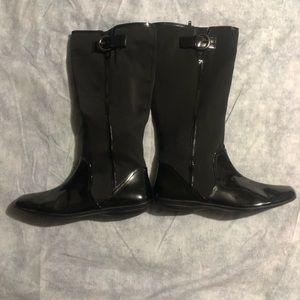 Mootsies Tootsies Black Boots Size 9 1/2M